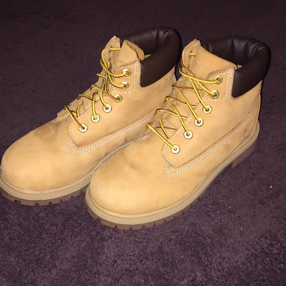 2c4a344b544 Timberland 6 inch Premium Boots Youth